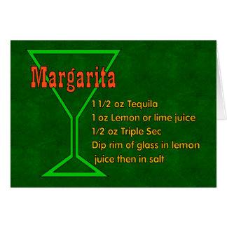 Carte Margarita