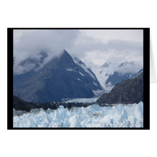 Carte Margerie glacier en septembre 2016