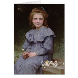 Carte Marguerites - William-Adolphe Bouguereau