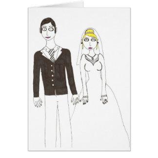Carte Mariage déplaisant 2 de Th