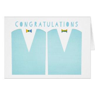 Carte Mariage homosexuel de félicitations