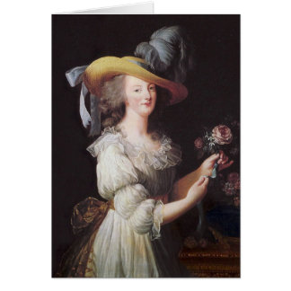 Carte Marie Antoinette