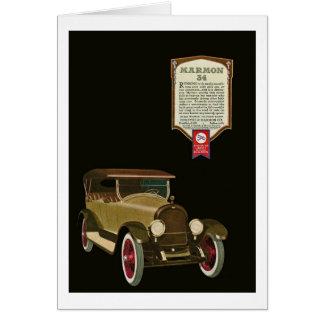 Carte Marmon 34 - Publicité automatique vintage