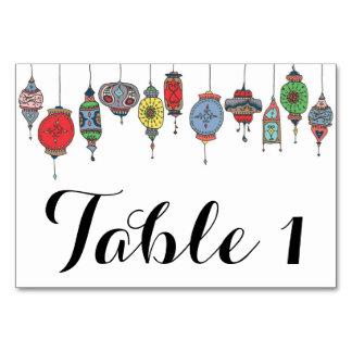 Carte marocaine magique de Tableau de lanternes