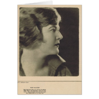 Carte Mary McLaren par Melbourne Spurr 1922