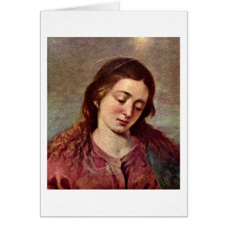 Carte Mary par Alonso Cano