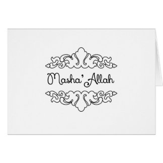 Carte Masha'allah