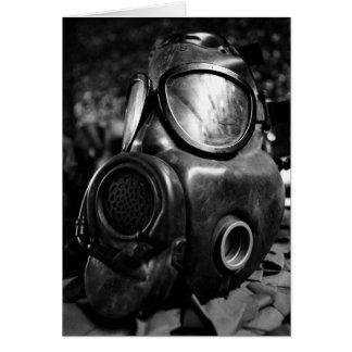 Carte Masque de gaz