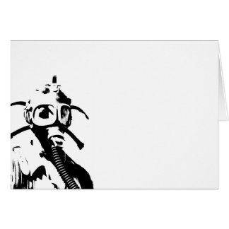 Carte Masques de gaz dans le noir
