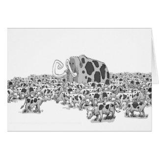 Carte Mastodonte dans le troupeau de vaches laitières