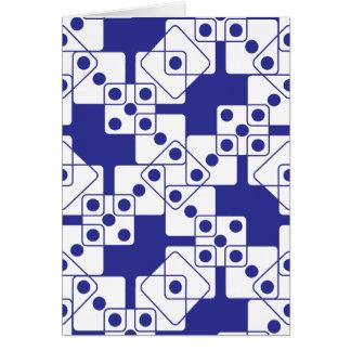 Carte Matrices bleues