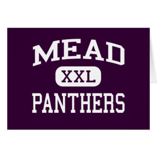 Carte Mead - panthères - lycée - Spokane Washington