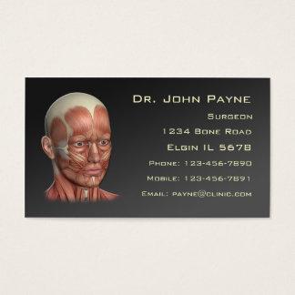 Carte médicale de profil