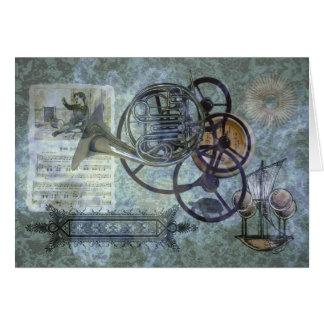 Carte Mélange de Steampunk de cor de harmonie
