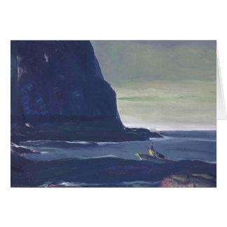 Carte Même la bosse par George Bellows