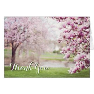 Carte Merci chrétien servant du coeur