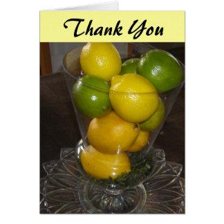 Carte Merci d'agrumes