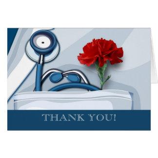 Carte Merci. Day Customizable Cards de médecins
