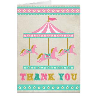 Carte Merci de carrousel