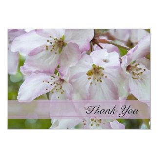 Carte Merci de fleurs de pomme sauvage pour votre