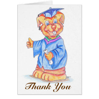 Carte Merci d'obtention du diplôme