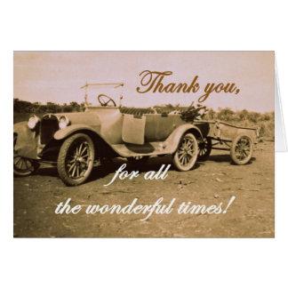 Carte Merci pendant toutes les fois merveilleuses