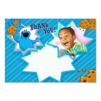 Carte Merci personnalisable de monstre de biscuit