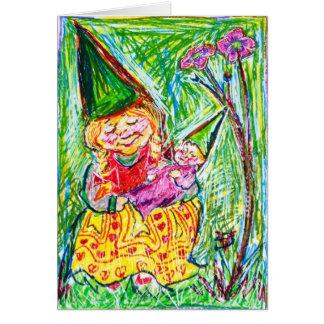 Carte Mère et enfant de gnome