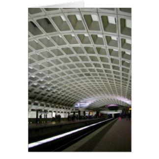 Carte Métro de Washington DC