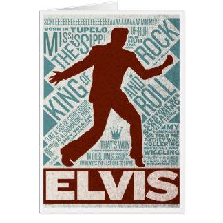 Carte Million de type d'Elvis de quartet du dollar