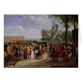 Carte Milo de Louis XIV Puget consacrant 'de