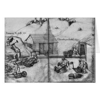 Carte Mine argentée des Croix-aux.-Mines de La