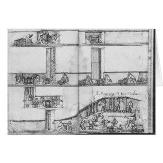 Carte Mine argentée des Croix-aux.-Mines de La, Lorraine