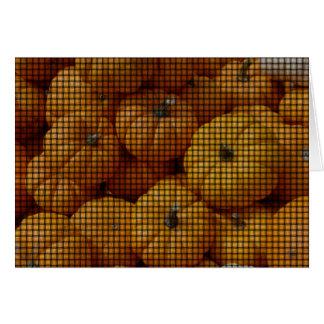 Carte Mini armure de citrouille