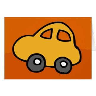 Carte Mini mini voiture - HappyHolidays bonnes fêtes