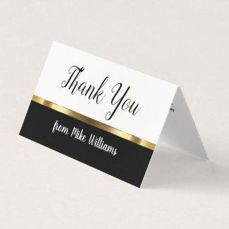 Carte Mini notes de Merci