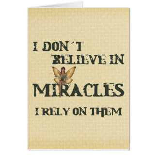Carte Miracles