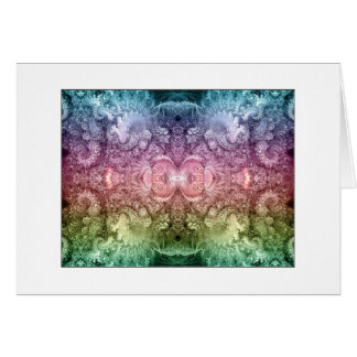 Carte miroir psychédélique de fractale