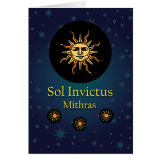 Carte Mithras, l'illustration invincible de Sun d'hiver