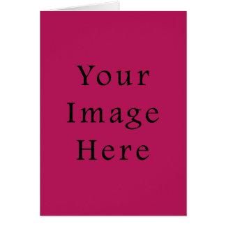 Carte Modèle rose pourpre fuchsia léger de tendance de