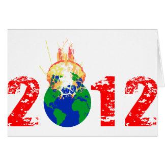 Carte Monde éclatant en 2012
