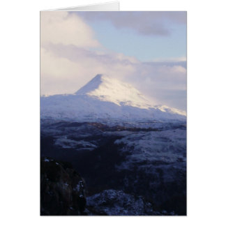 Carte Montagne de Canisp - Noël 2008 !