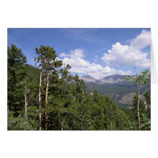 Carte Montagne rocheuse
