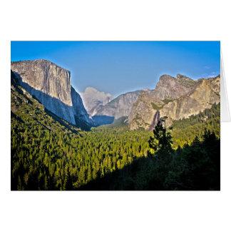 Carte Montagnes de Yosemite