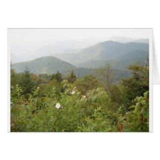 Carte Montagnes fumeuses - l'appareil-photo de Connie,