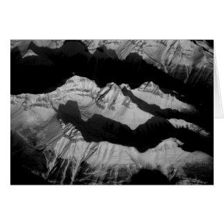 Carte Montagnes rocheuses