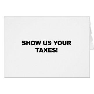 Carte Montrez-nous vos impôts !