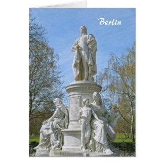 Carte Monument de Johann Wolfgang von Goethe à Berlin