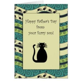 Carte . : : MoonDreams : :. Chat noir de fête des pères