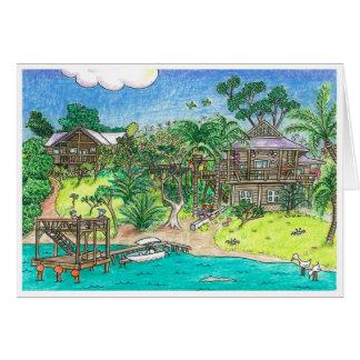 Carte Morsure de Gibson, Roatan, Honduras